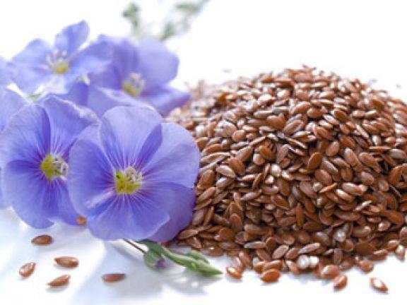 graines de lin fleur